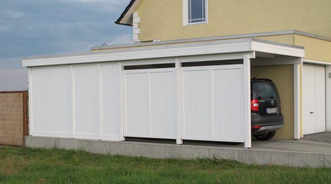 Gut bekannt Carport mit Seitenwänden und Geräteraum | Holz Böhme AP71