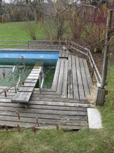 Favorit Swimming Pool Umrandung aus Tali-Holz   Holz Böhme UI97